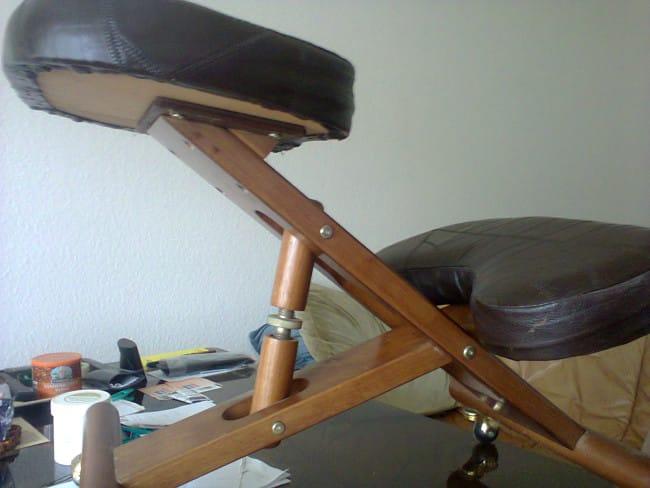 Gesundheits- / Fitness ( Schreibtisch ) Stuhl / Sitzelement - Bild1