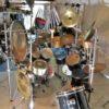 Schlagzeug (Black Pearl) Unikat