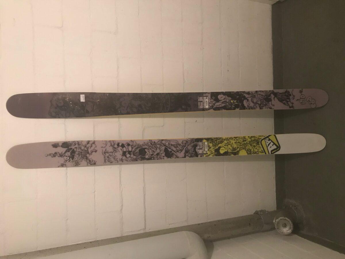 APO Ron Powder Rocker Camber All Mountain Back Country Snow Ski 181cm