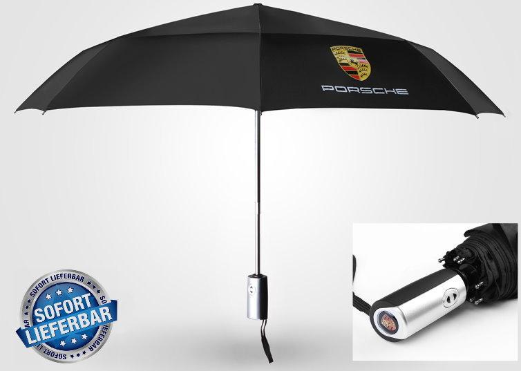 Porsche Fan Regenschirm / Taschenschirm