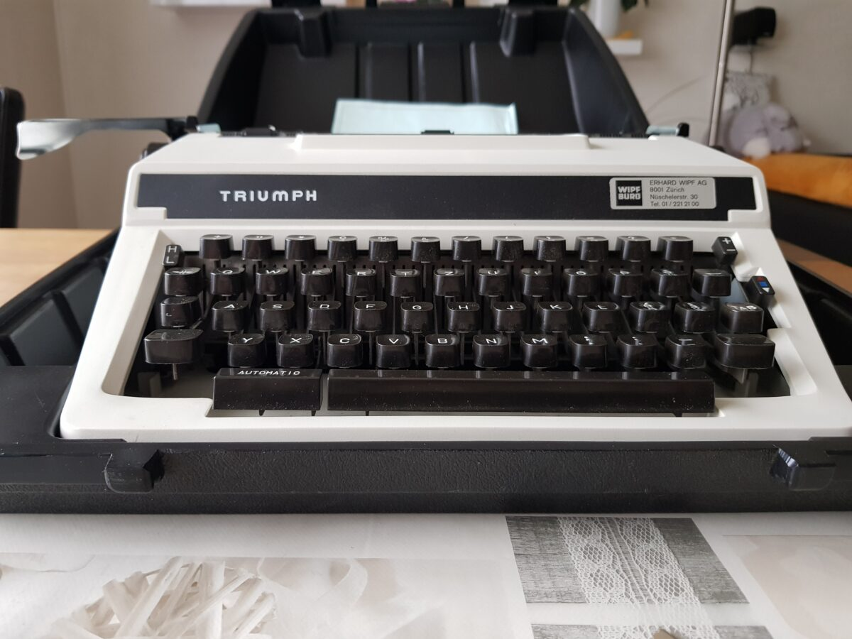 Digitale Schreibmaschine