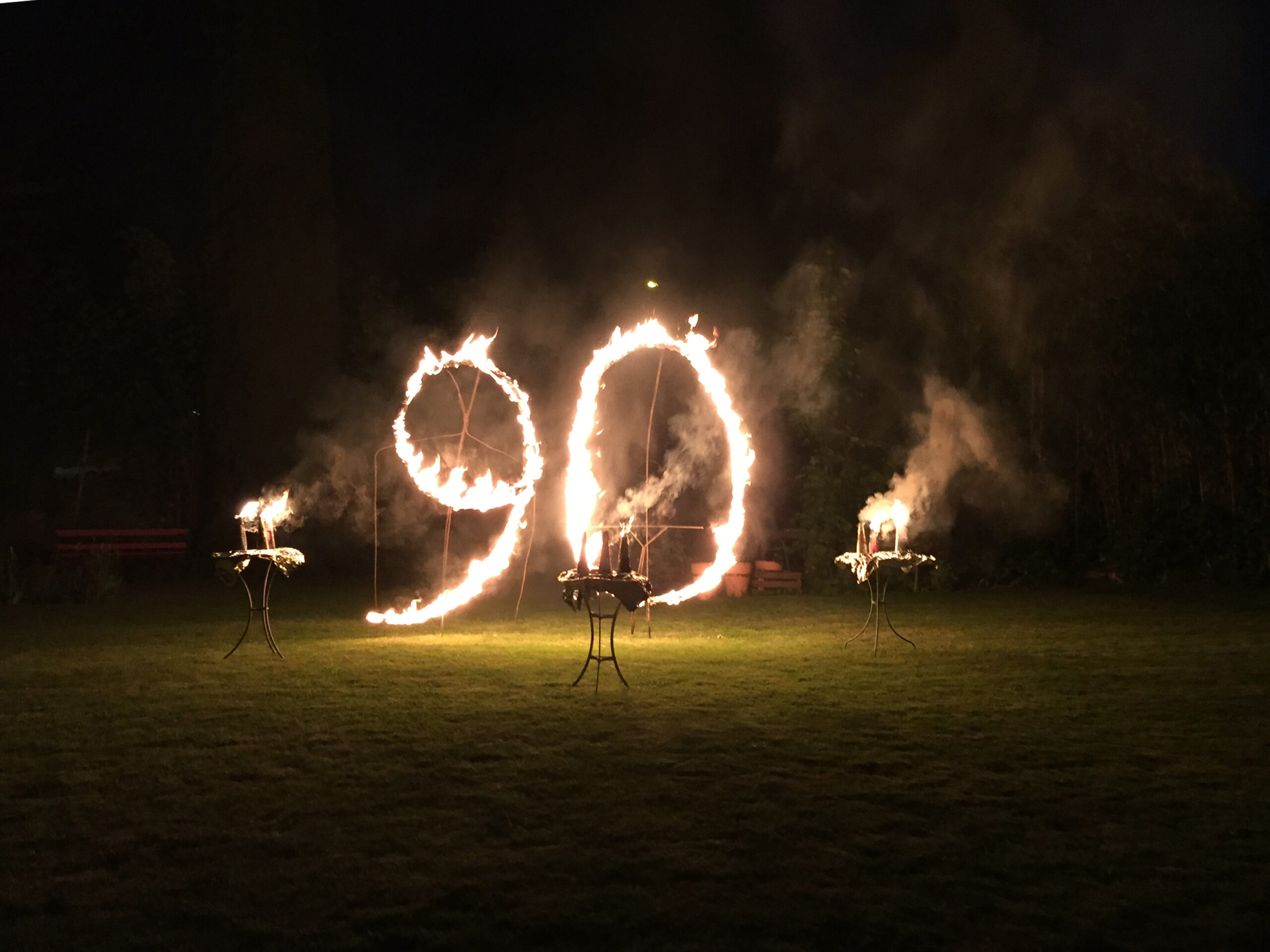 90 ohne Vulkane