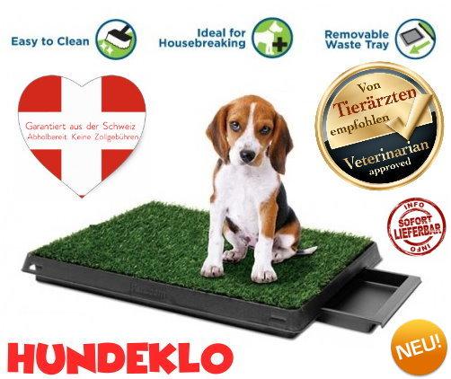 Hundeklo - geeignet für Indoor und Outdoor!