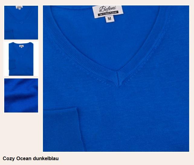 3Cozy Ocean dunkelblau